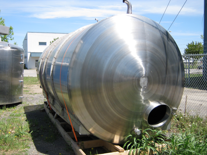 Réservoir horizontal simple paroi 20000 litres (5000 USG)