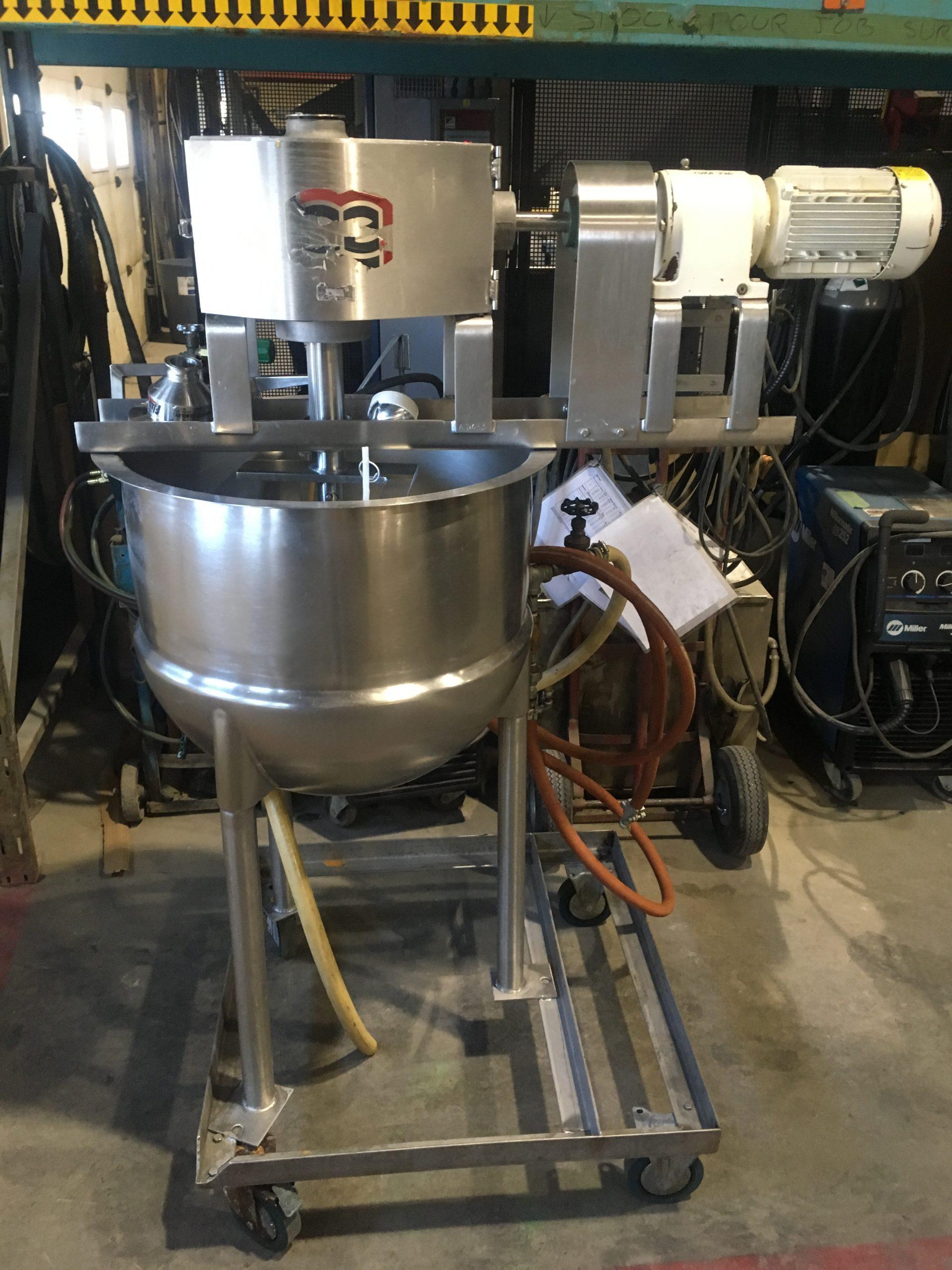 Mélangeur Lee Industries 100 litres