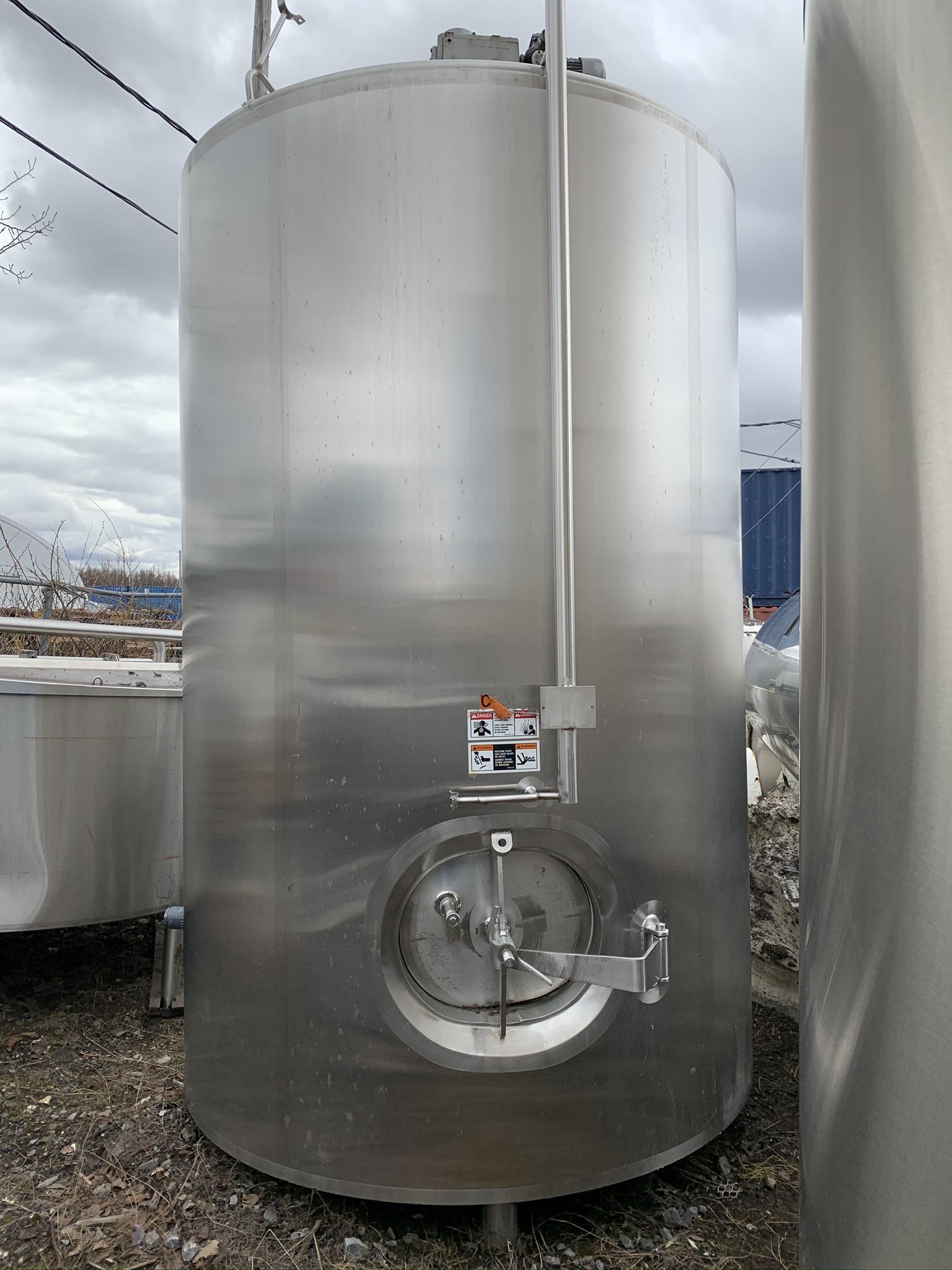 Cuve de procédé Walker 4900 litres (1300 USG)