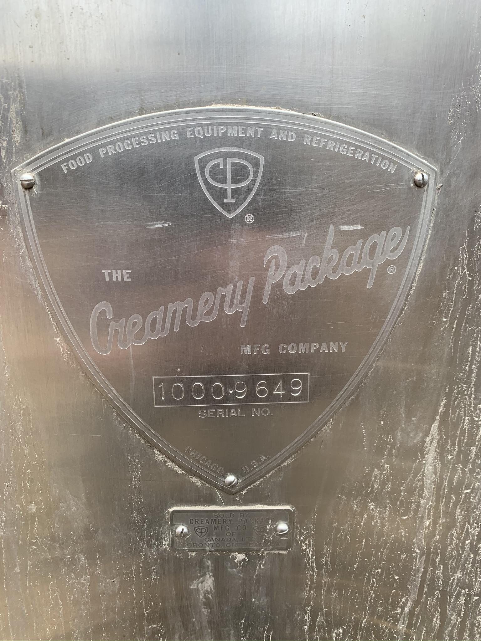Pasteurisateur Creamery Package 5500 litres remis à neuf