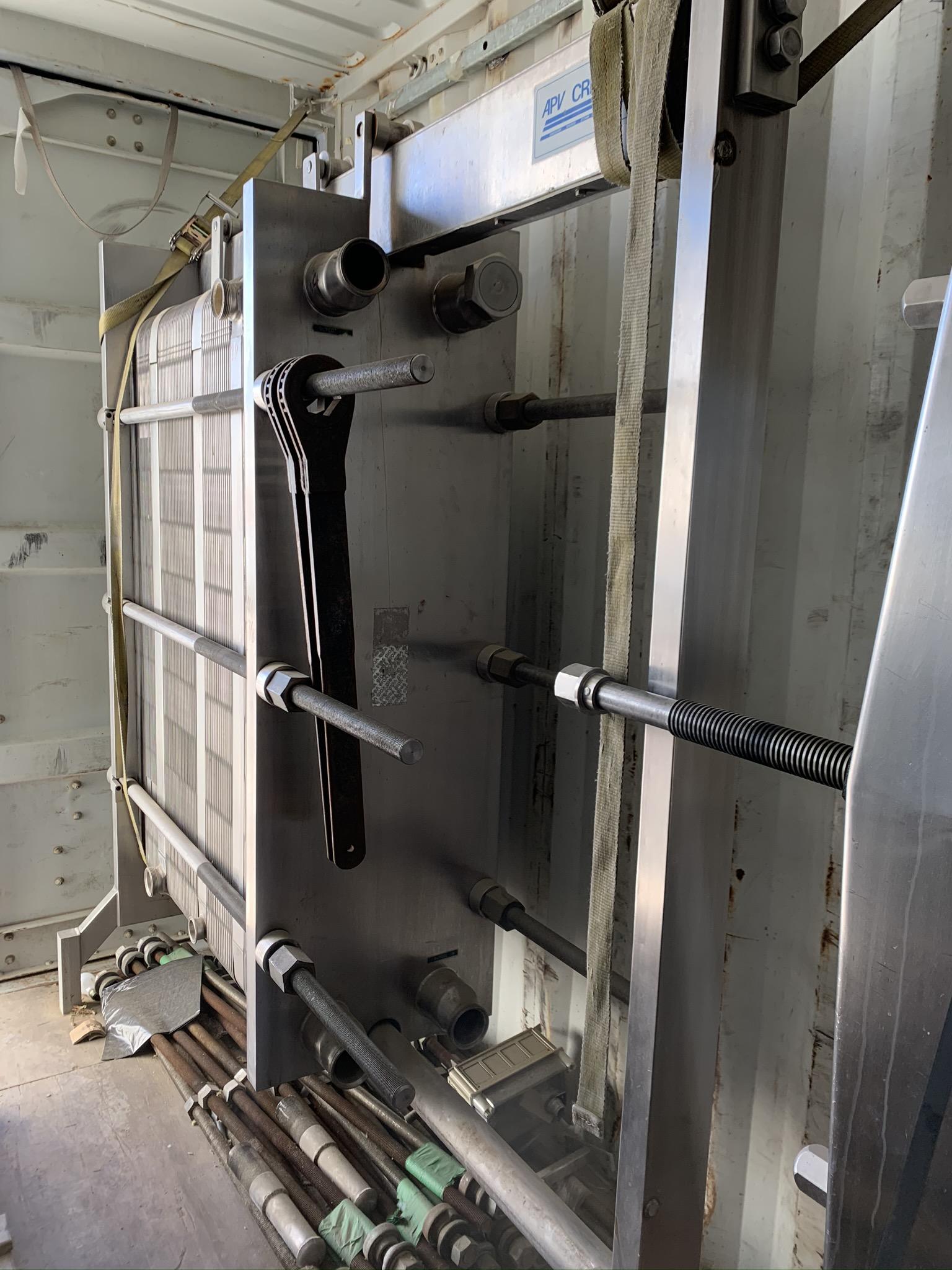 Échangeur à plaques APV Crepaco haute capacité