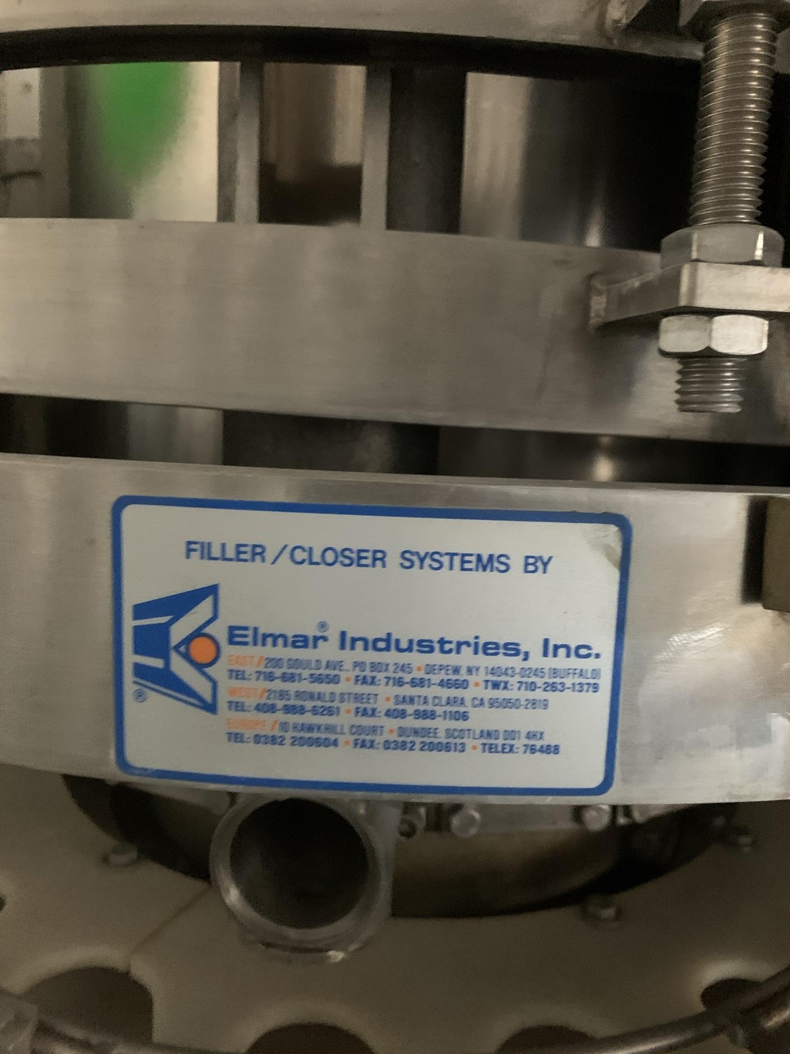 Remplisseuse empoteuse doseuse capeuse Elmar Industries