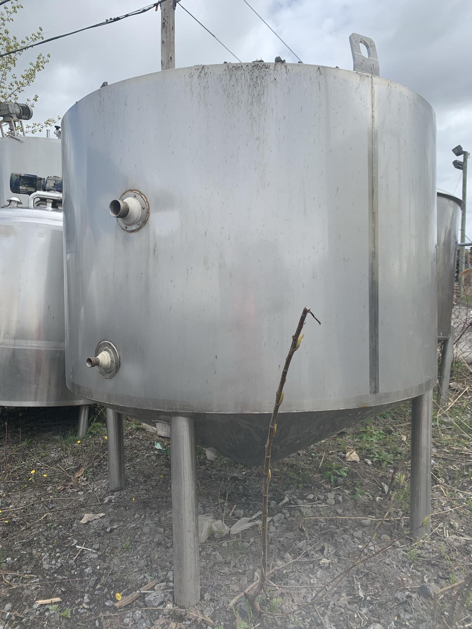 Réservoir vertical 4000 litres
