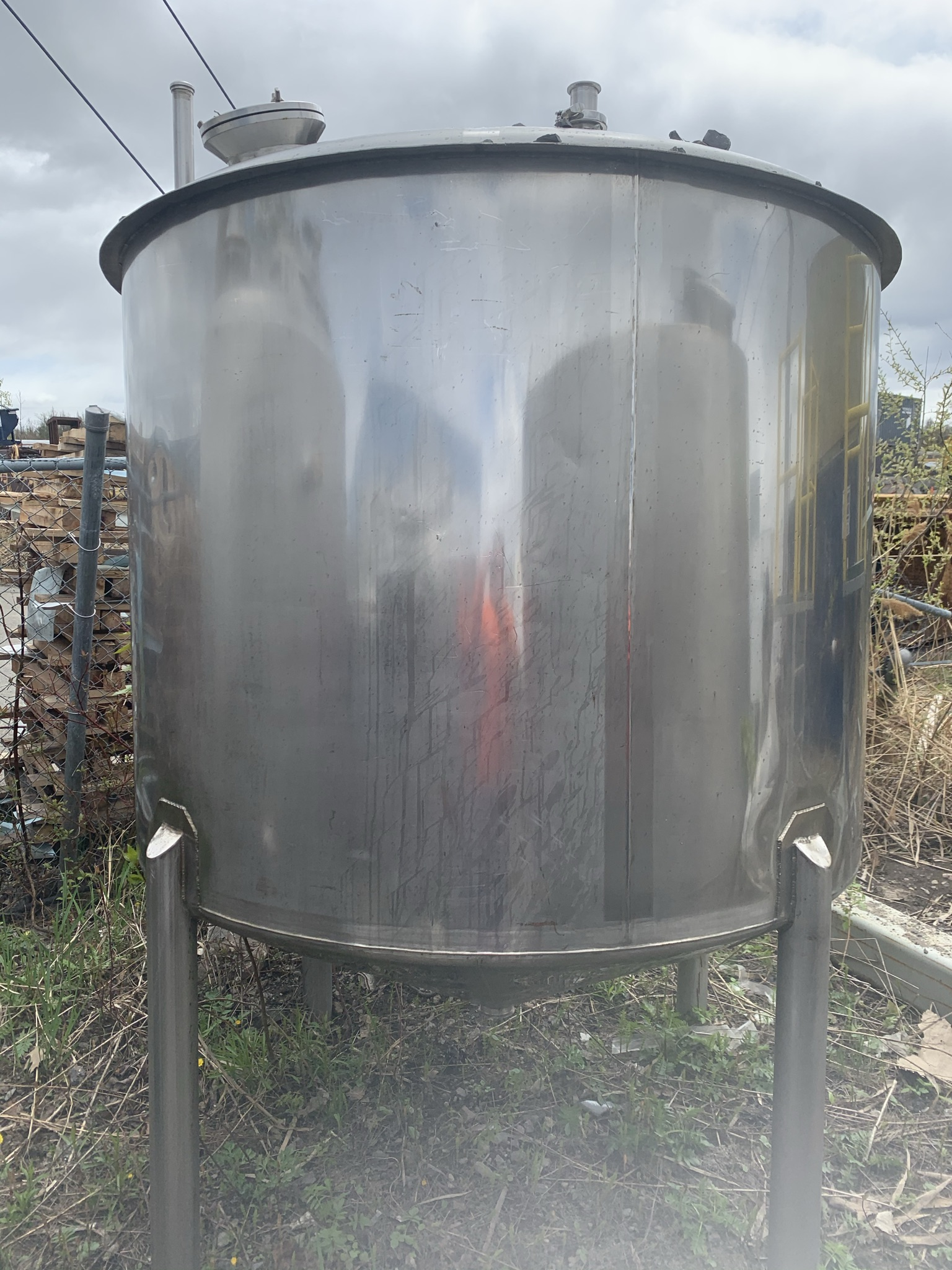 Réservoir de mélange 2000-2500 litres