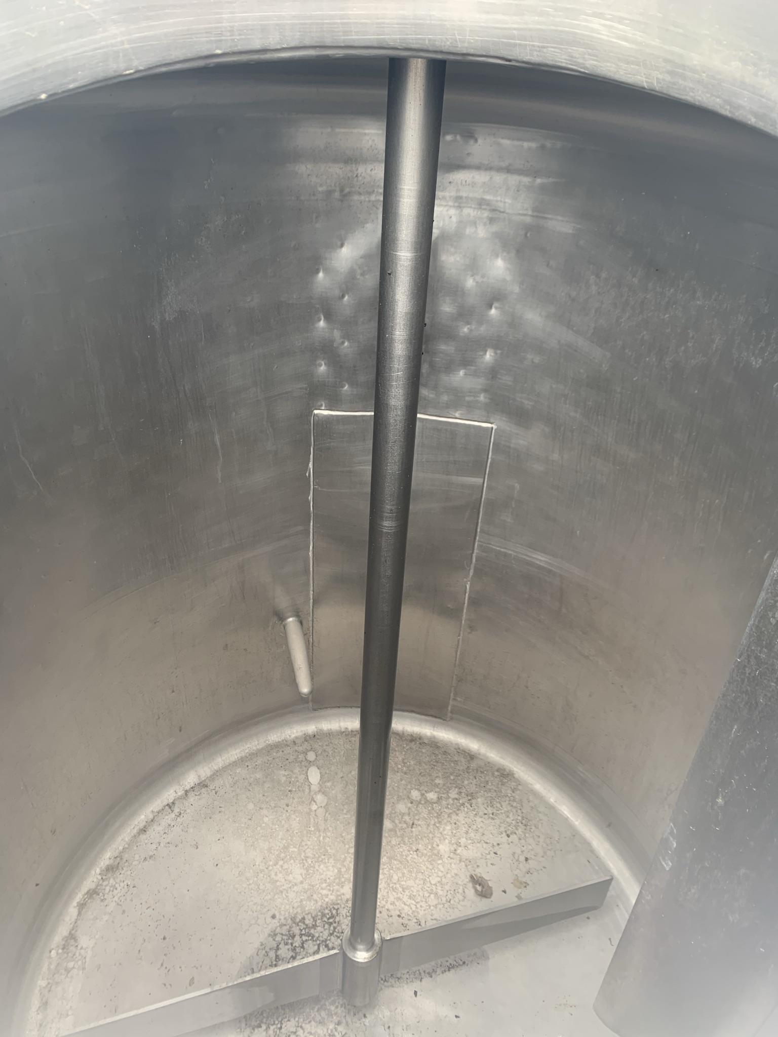 Cuve de procédé type pasteurisateur à batch 2000 litres