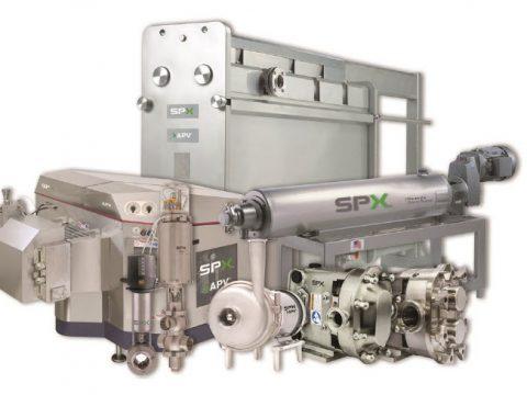Produits gamme SPX Flow
