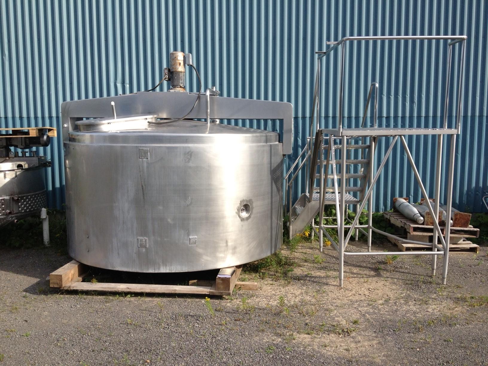 Mélangeur – Agitateur 5 000 litres MKT 1978