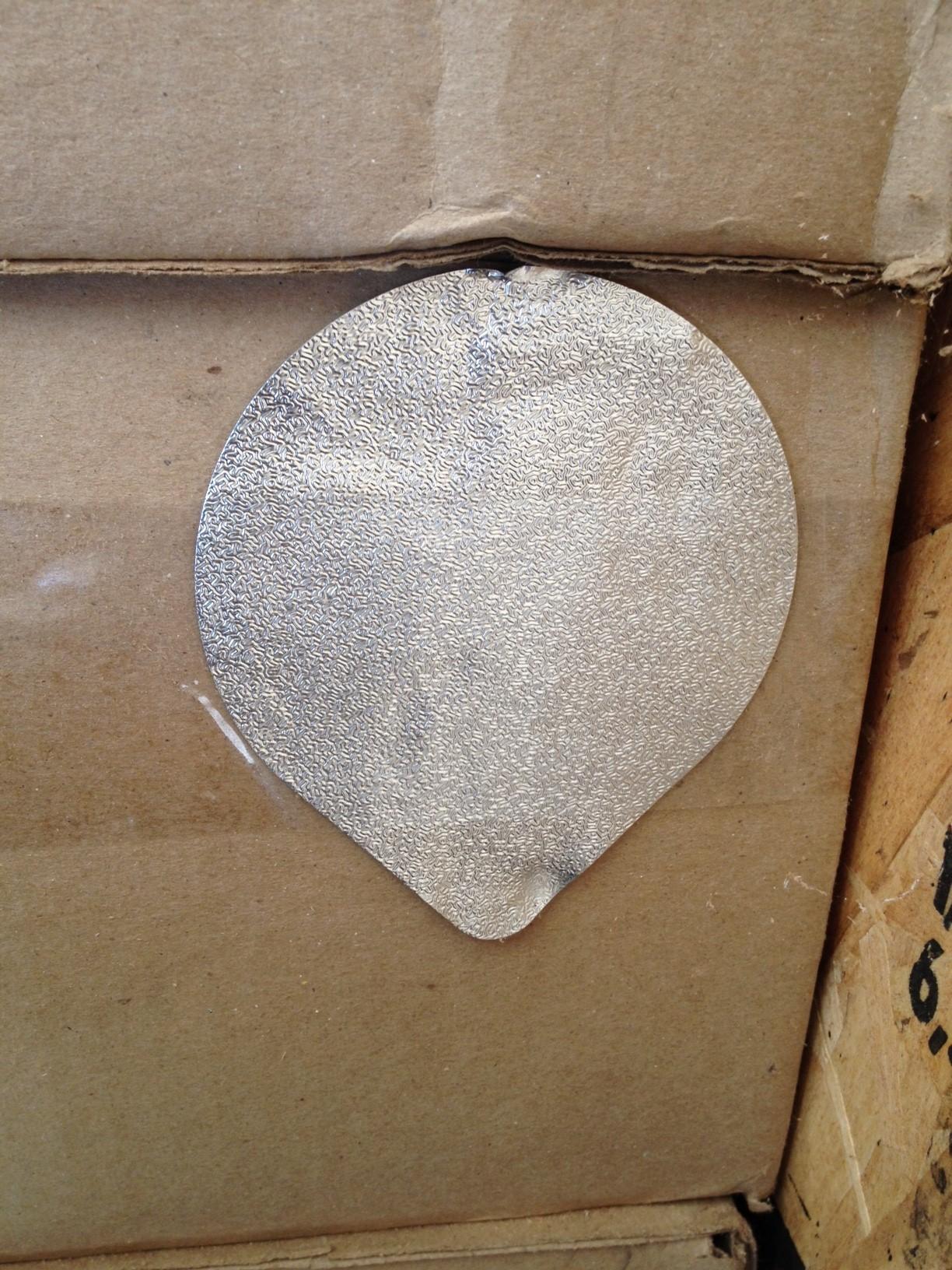 Opercules aluminium 83mm